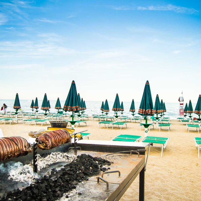 Spiaggia a Numana