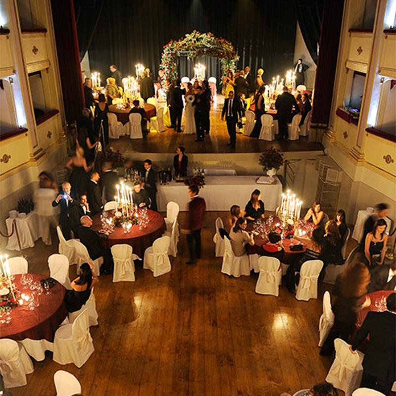 Matrimonio In Ristorante : Matrimonio in teatro ristorante andreina