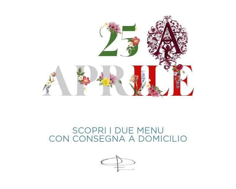 Menù 25 Aprile di Errico Recanati