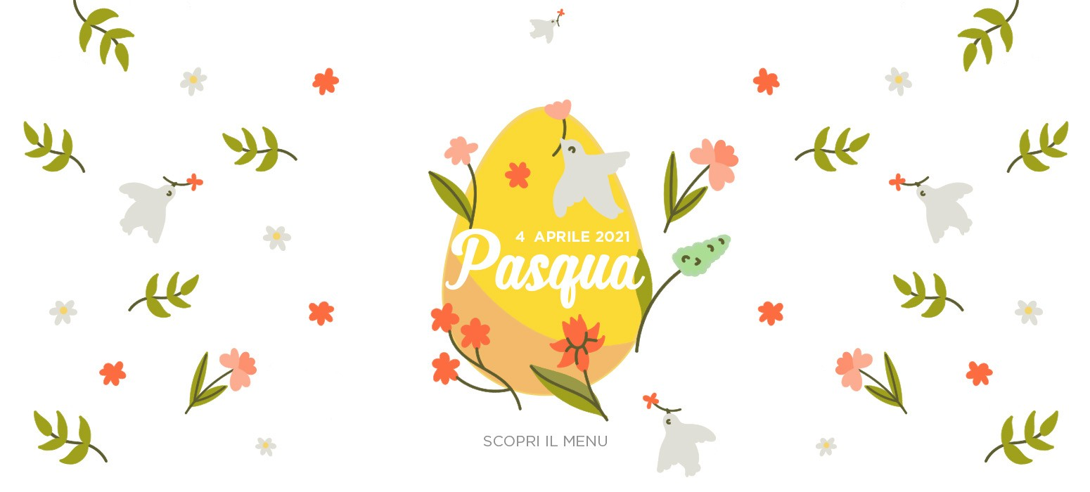 Menù Pasqua 2021